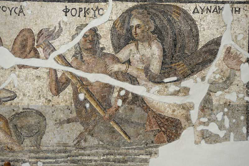 Roman mosaic from Antakya.