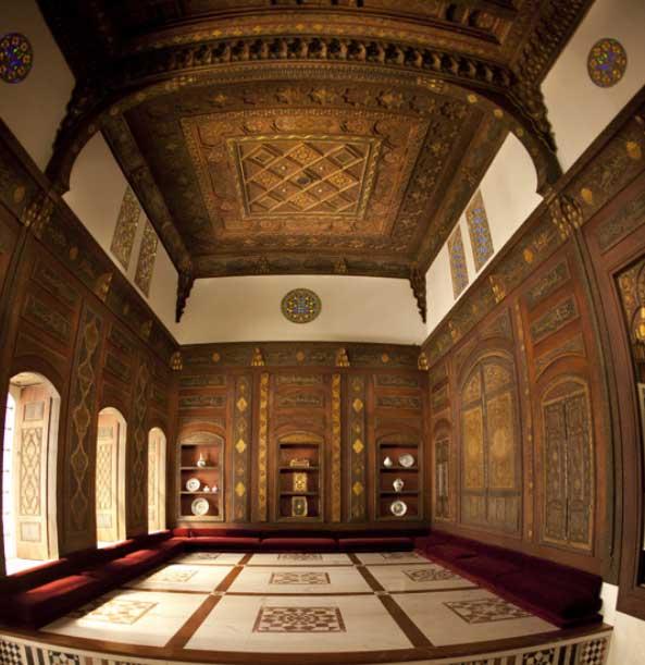 The Damascus Room. Metropolitan Museum of Art.