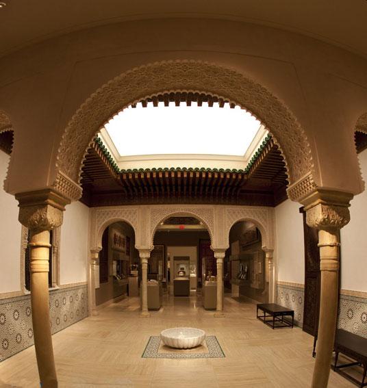 The Moroccan Court. Metropolitan Museum of Art.