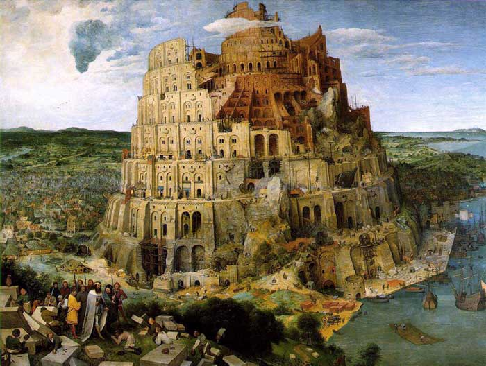 The Tower of Babel, Pieter Brueghel the Elder.