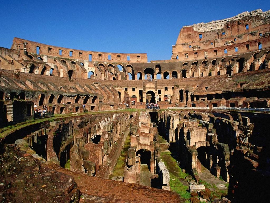 Colosseum, interior.