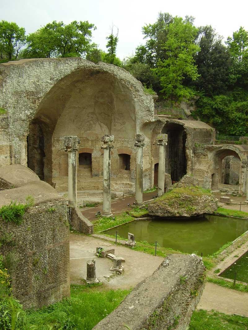 Hadrian's villa is a UNESCO World Heritage site.