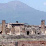 Another Crumbling Wall Spotted in Pompeii