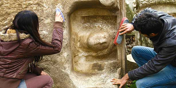 The 2000 year old bust.