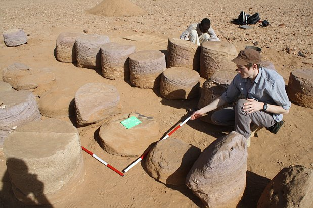 Czech archaeologists have found a temple from the Meroe period near Vad Bon Naga in Sudan.