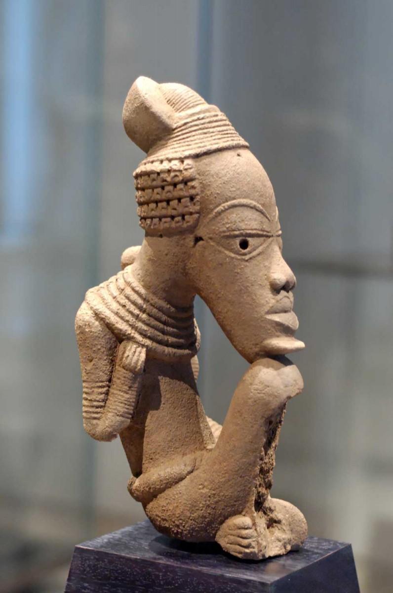 Nok culture terracotta. Musée du Louvre.