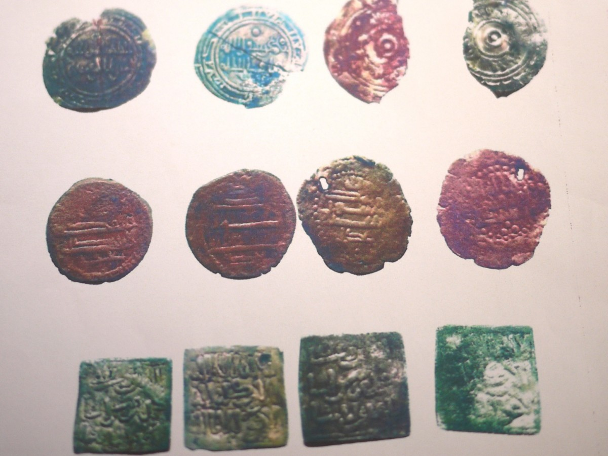 Coins from the Benghazi Treasure.