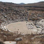 Ancient theatre of Delos to be restored