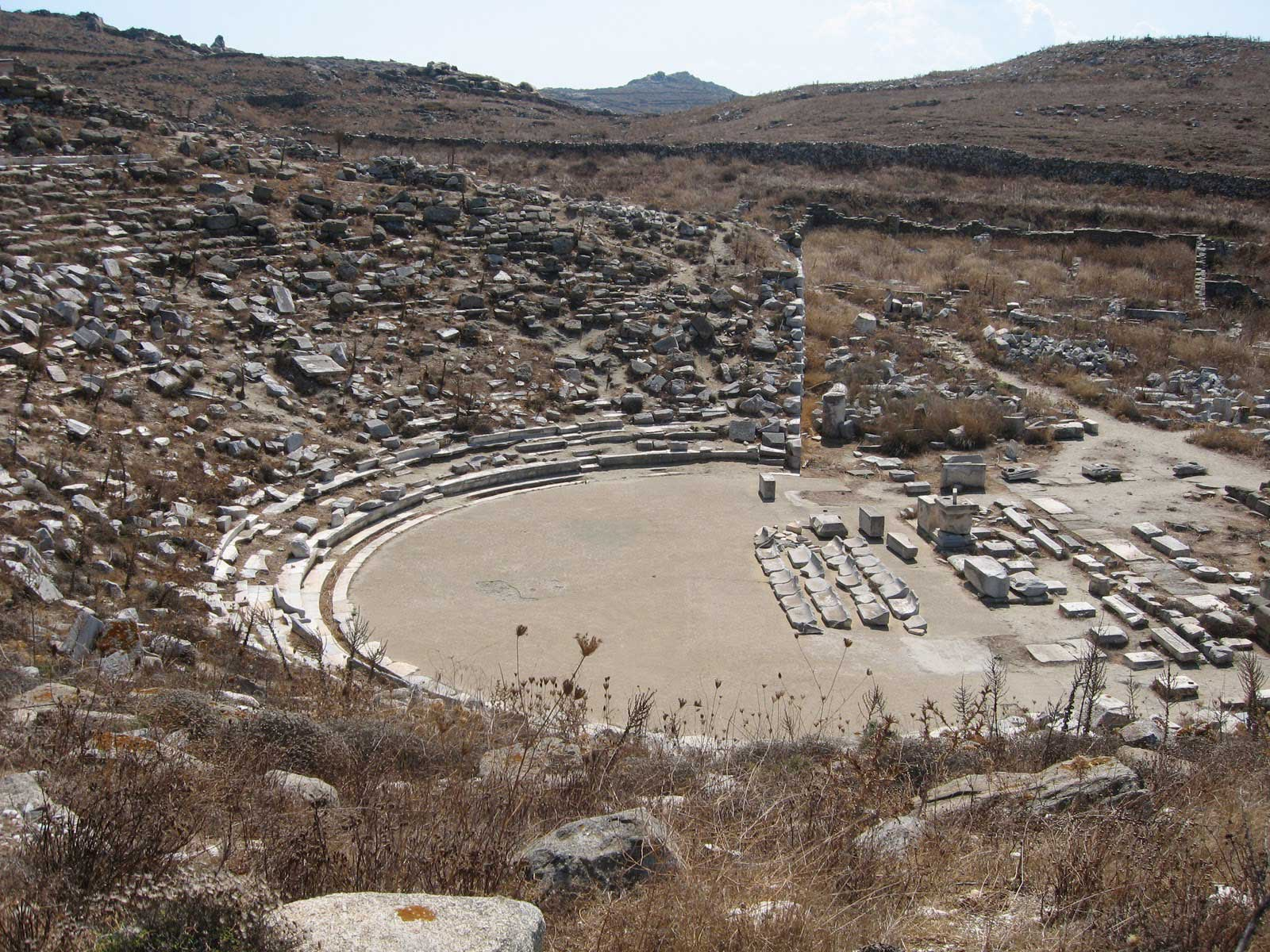 Ancient theatre of Delos to be restored - Archaeology Wiki