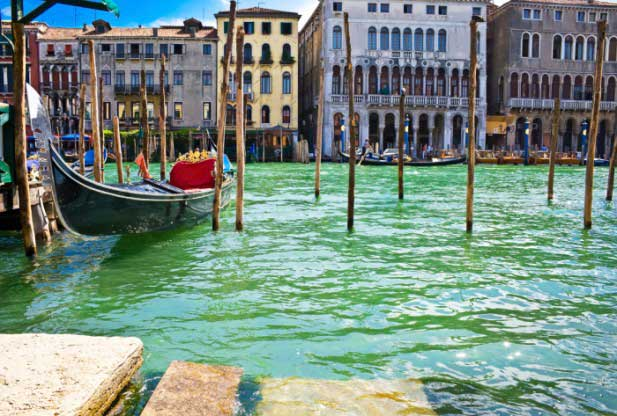 Venice city is subsiding at a rate of 2 millimeters a year.