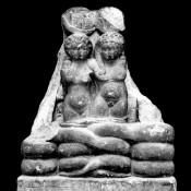 The twins of Cleopatra and Mark Antony