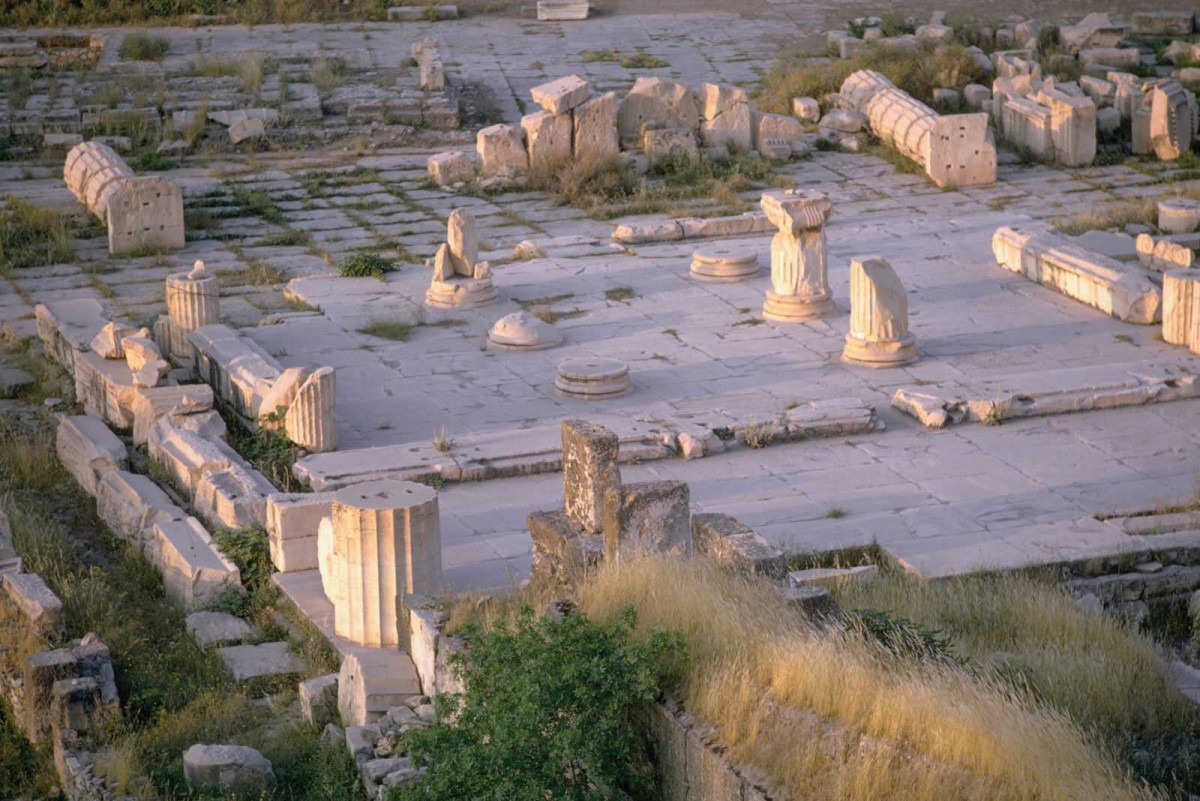The participants will record the site's extensive architectural remains at Eleusis.