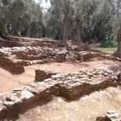 Byzantine settlement in Lefokastron