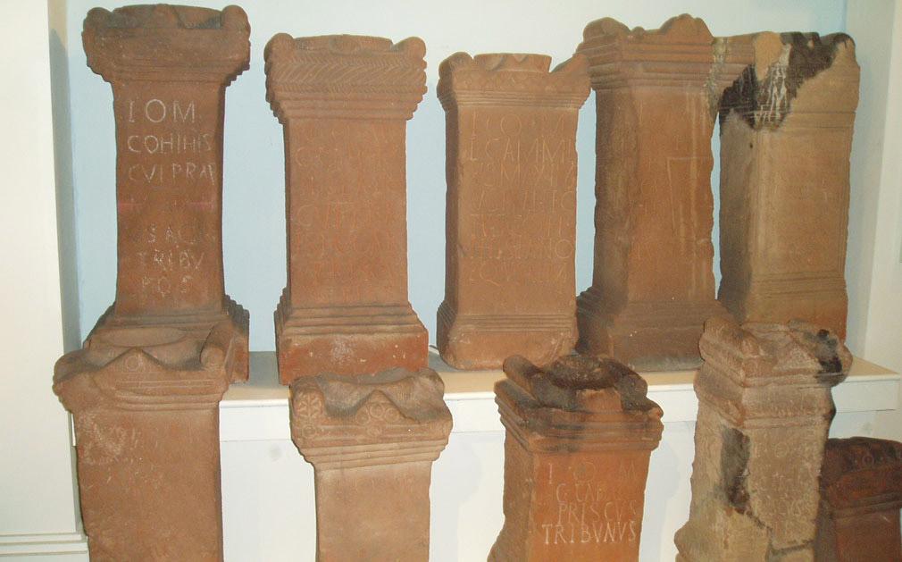 Roman military altars from Maryport.