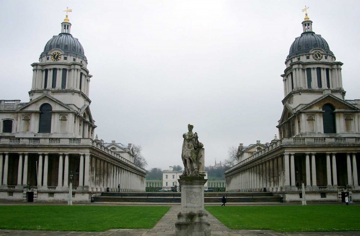 The Greenwich Old Naval College.