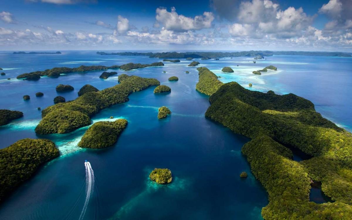 Palau's Rock Islands Southern Lagoon.
