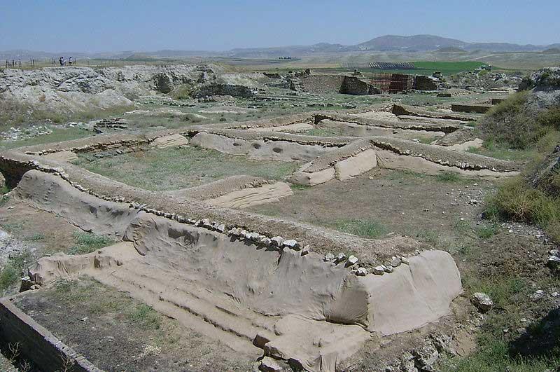Ruins of Gordion.