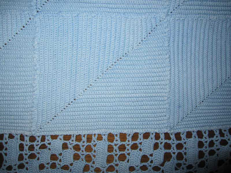 Crochet is a process of creating fabric from a single thread using a crochet hook.