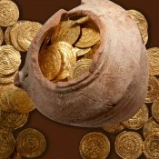 Hoard of gold coins found at Israel Crusades site