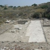 Mosaic floors and Byzantine cityscape at Kourion