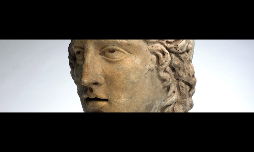 Head of Mithras discovered in Walbrook, UK.