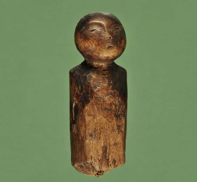 Wooden Doll. Image: University of Aberdeen.