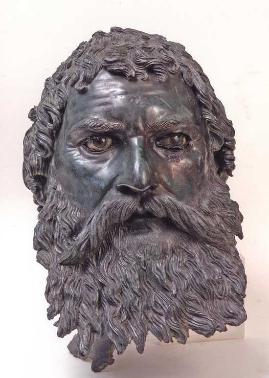 'Portrait of King Seuthes III', Thracian, 4th century BCE.