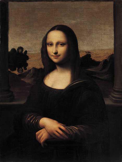 The Isleworth Mona Lisa.