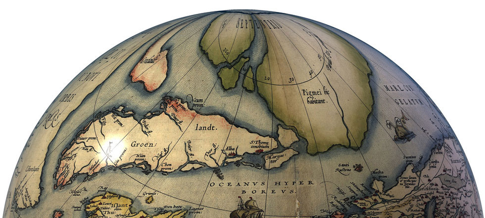 Ortelius, the Northern Regions.
