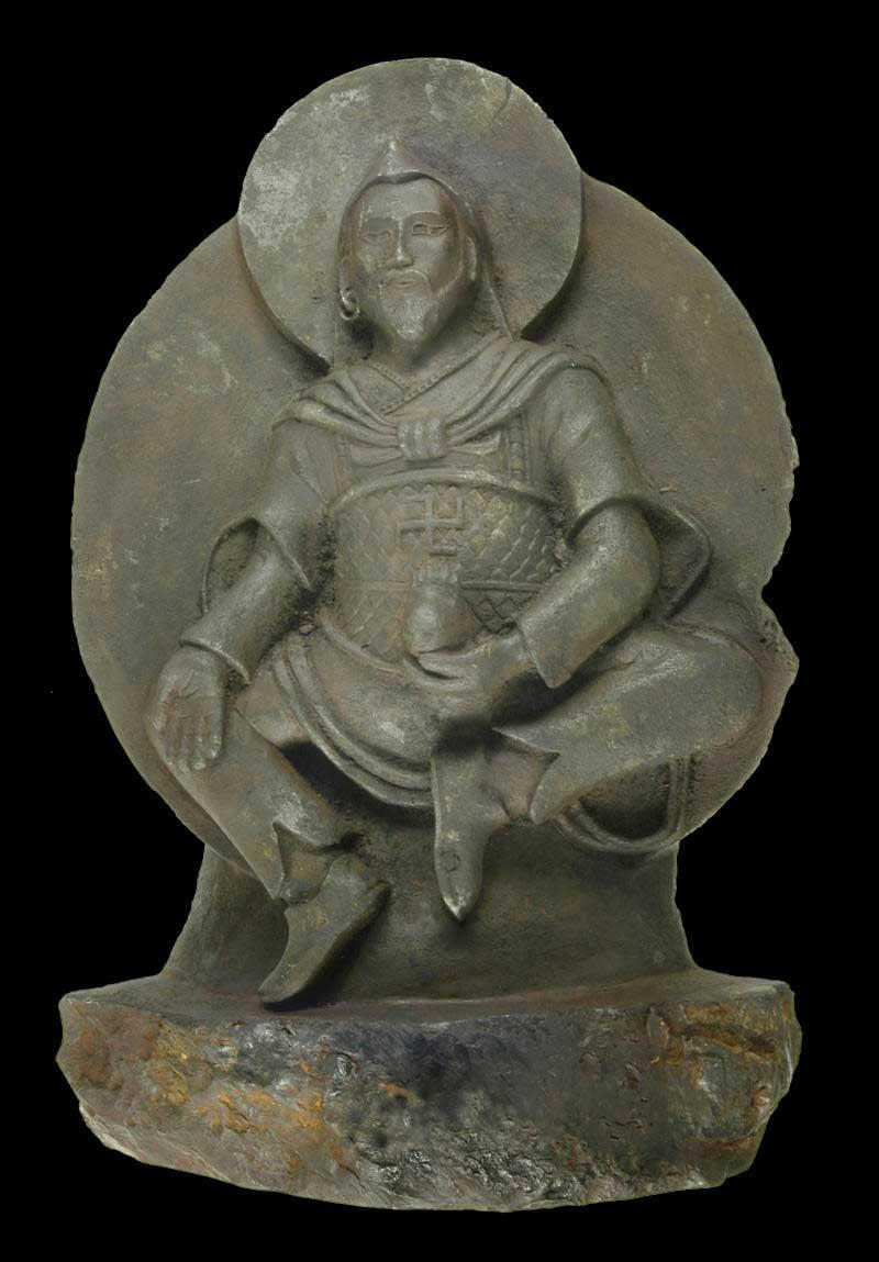 The 'Space Buddha' statue. (Credit: Dr. Elmar Buchner)