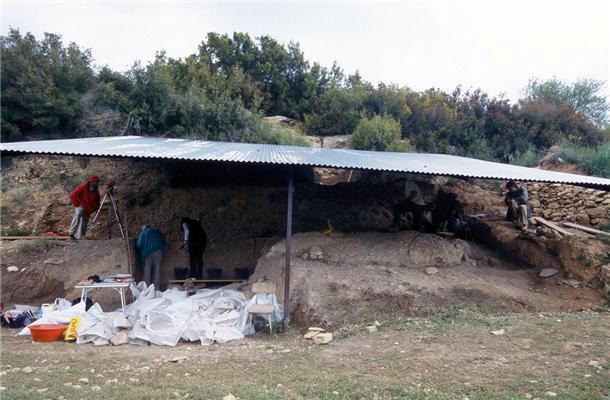 The Molí del Salt archaeological site in Tarragona, Spain.