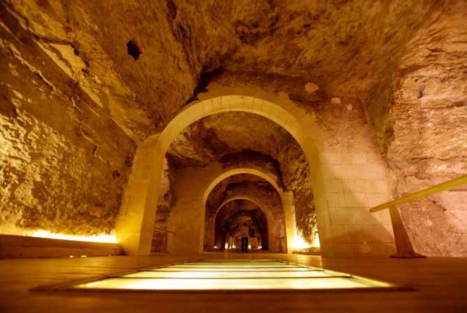 The Apis Tombs At Saqqara Necropolis Back On Tourist Map Archaeology Wiki