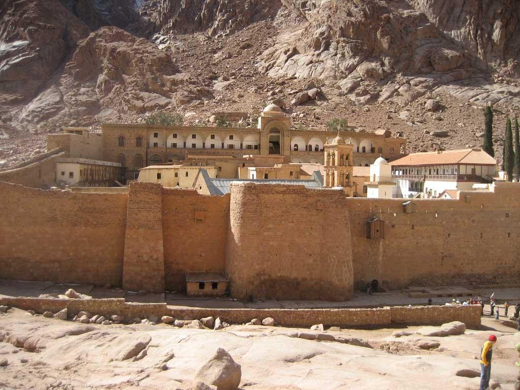 St. Catherine's Monastery, Sinai.