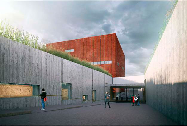 The construction of the Troy Museum will cost nearly $10 million.
