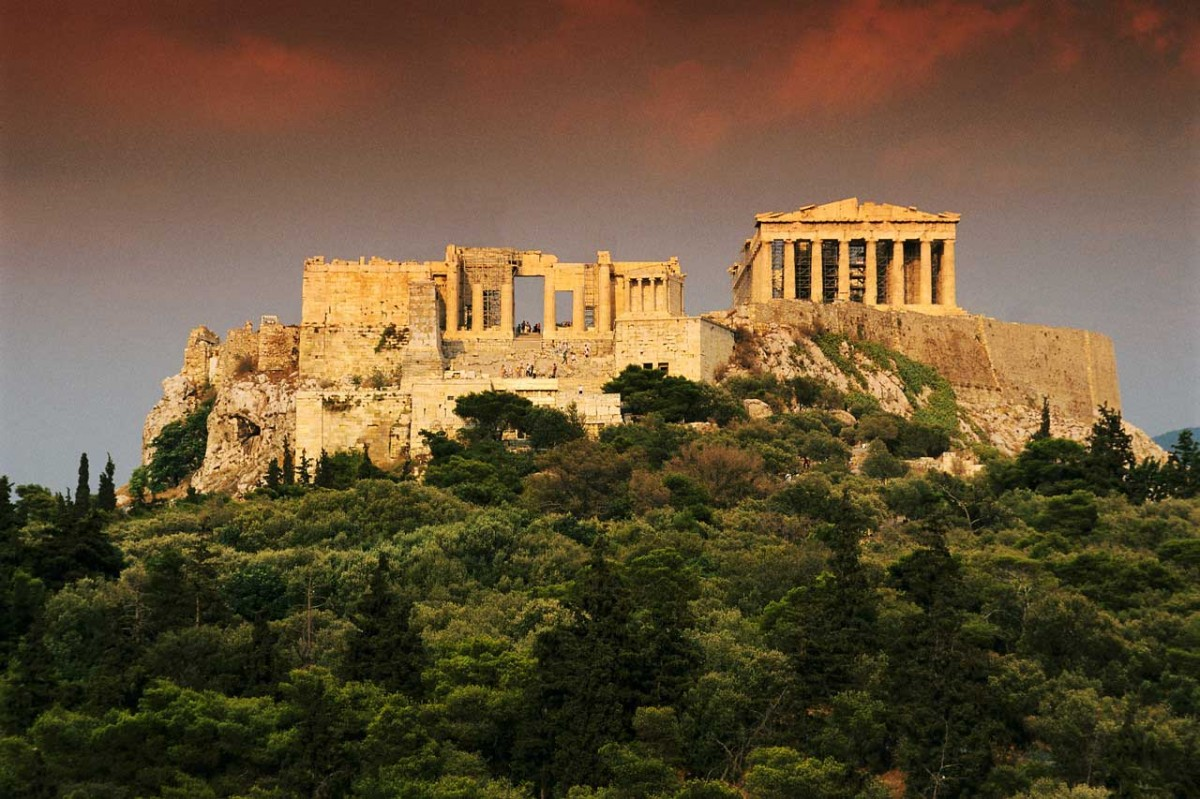 Acropolis of Athens.