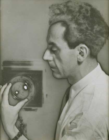 Man Ray Self-Portrait with Camera, 1932.