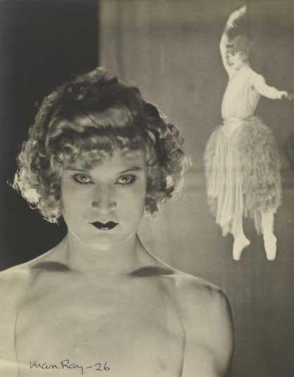Barbette (Double Exposure), 1926.