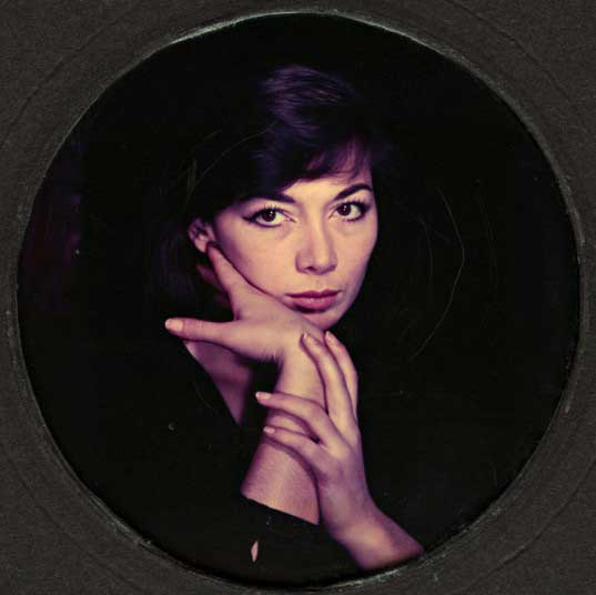 The image of Juliette Greco (1956) is a rare example of Man Ray's experiments with colour photography. Later pictures like this are rarely exhibited.