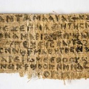 Ancient papyrus reveals early Christian belief that Jesus was married