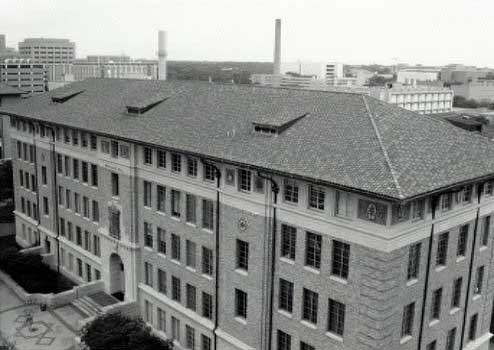Historic Waggener Hall houses the Classics Department at the University of Texas.