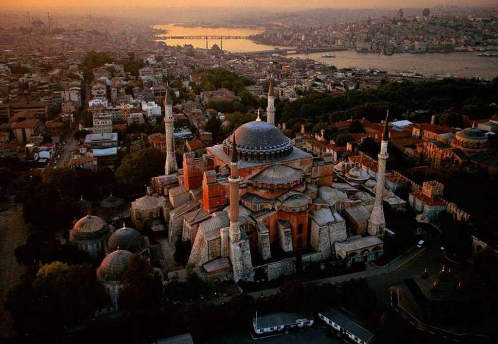 Haghia Sophia, Istanbul.