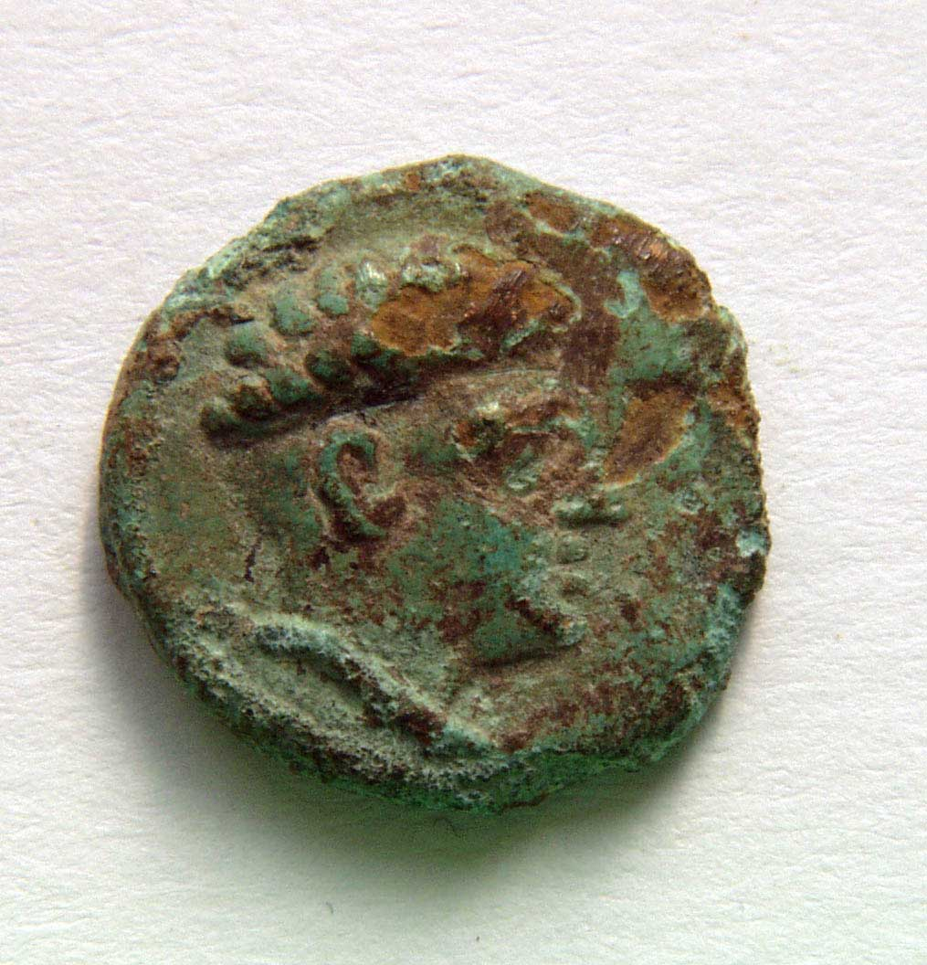 A typical King Ballaios coin thought to be minted at Rhizon. (Image: Janusz Reclaw)