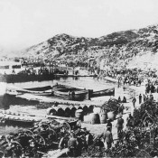 The Gallipoli battlefield