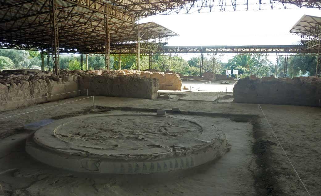 Nestor's palace at Pylos. (Image: David Connolly)