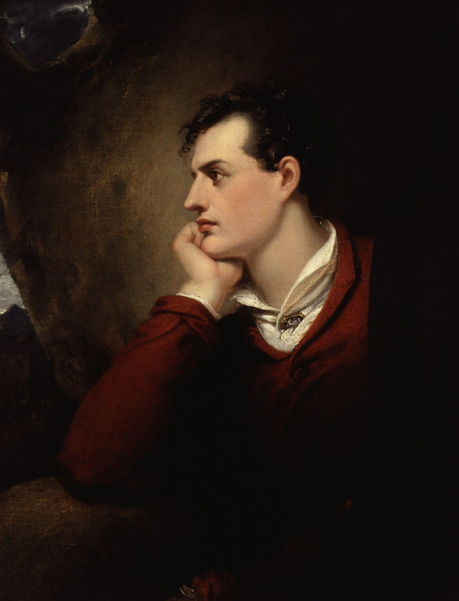 George Gordon Byron, 6th Baron Byron, by Richard Westall.