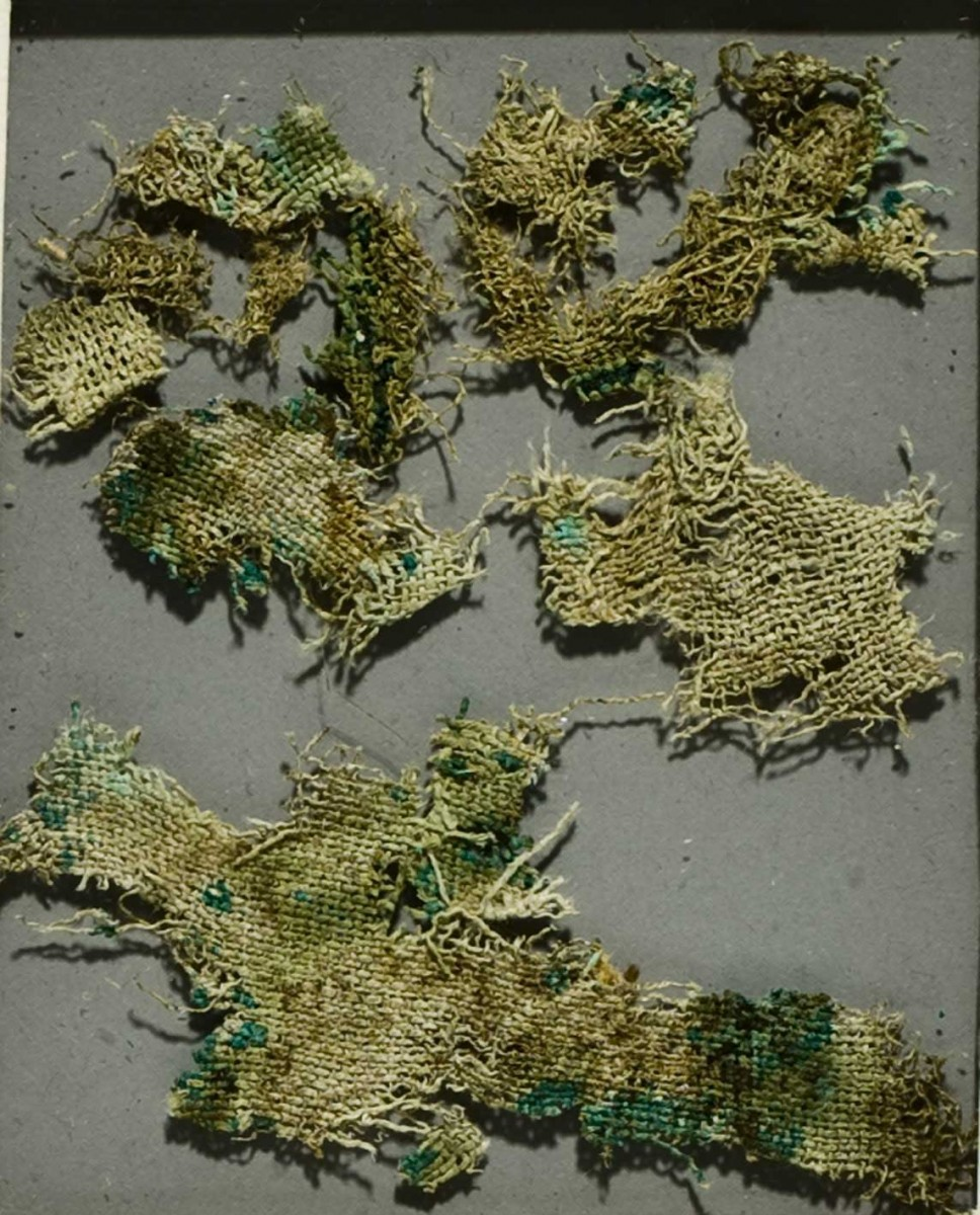 The remains of the nettle cloth.