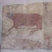Recreation of wall paintings in Çatalhöyük