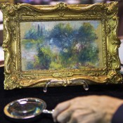 Flea-market Renoir was stolen from museum in 1951