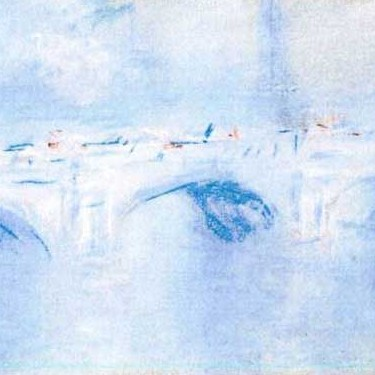 'Waterloo Bridge, London', one of two stolen by Claude Monet. (AP Photo/Police Rotterdam