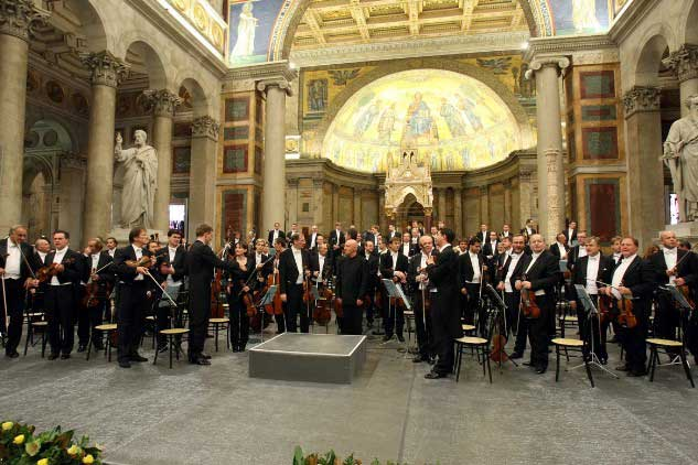Concert of the Festival on October 13, 2008.